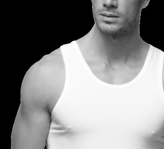 Camisetas interiores de tirantes para hombre