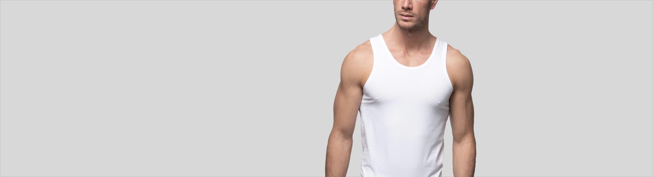 Camiseta interior de tirantes para hombre Abanderado