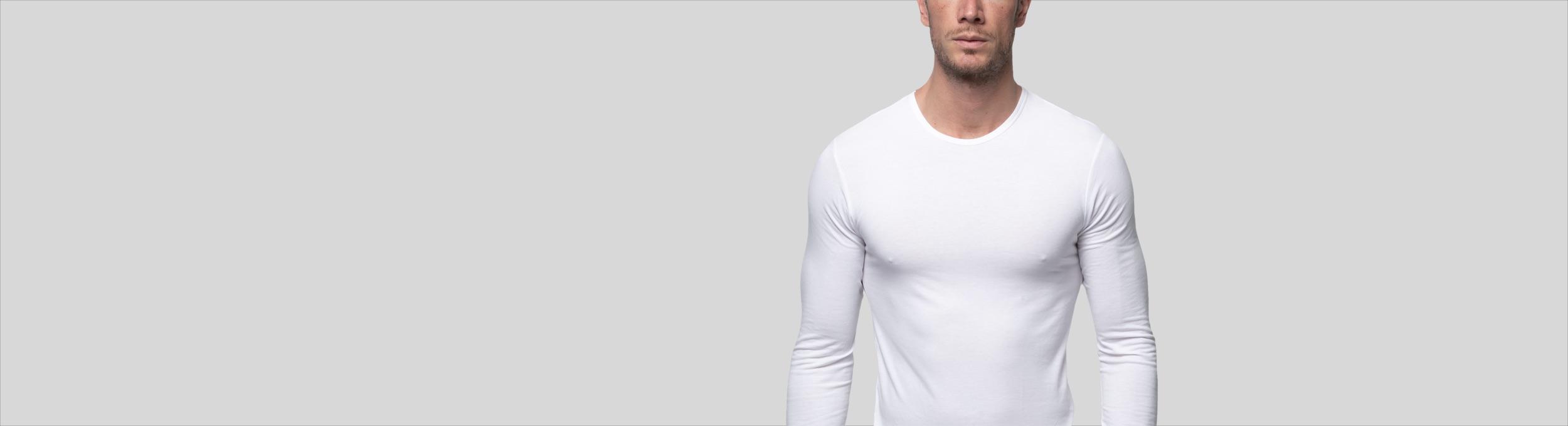 Camiseta termica de manga larga para hombre Abanderado