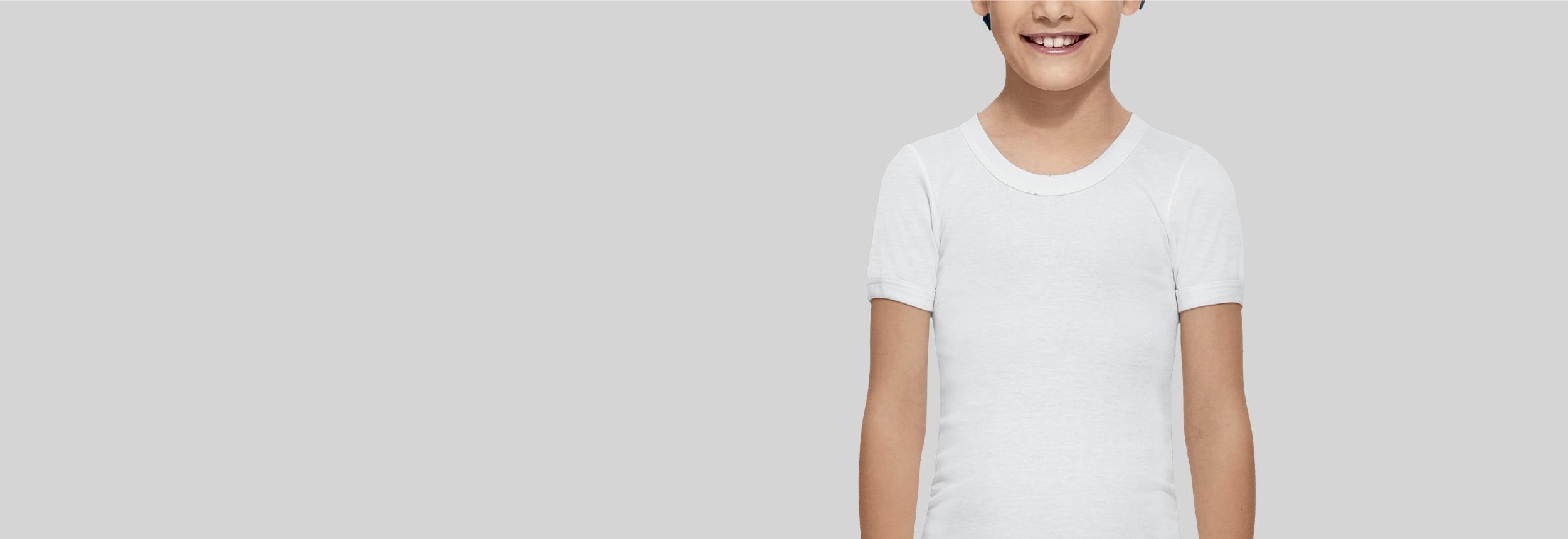 Camisetas interiores para niño Abanderado