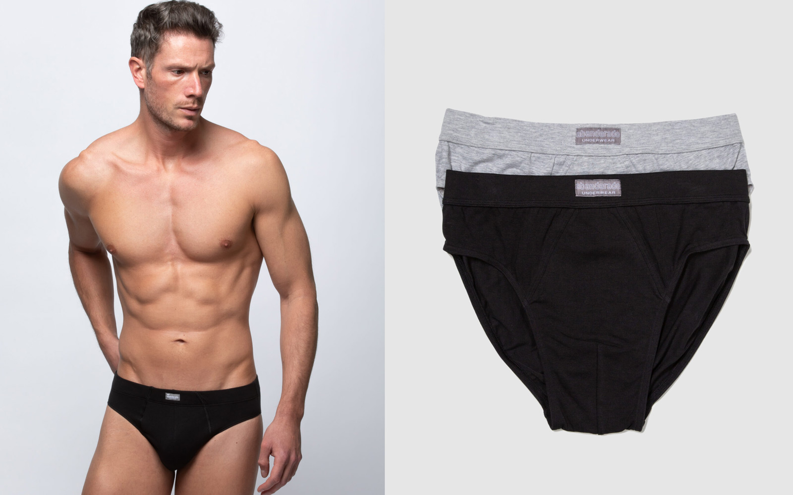 elegir colores neutros para ropa interior de hombre